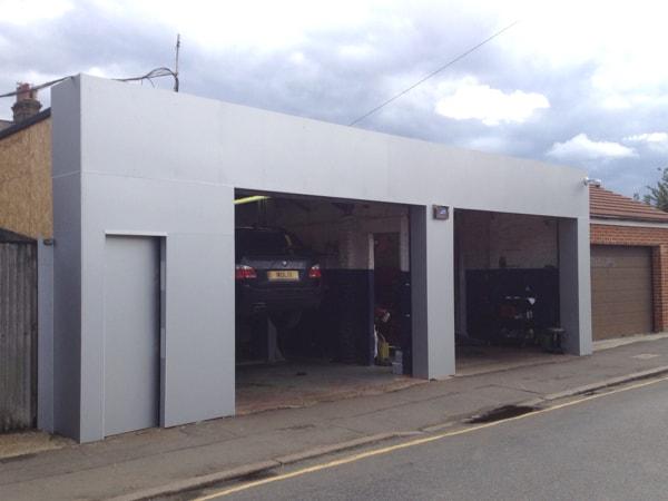 Refurbishment at Waterfall Garage in Wimbledon