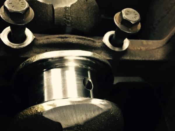 Machined MINI replacement crankshaft