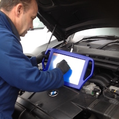 Performance tuning in Wimbledon SW19 with autologic dealer level diagnostic equipment