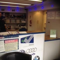 Waterfall garage in Wimbledon MOT service reception for cheap car servicing