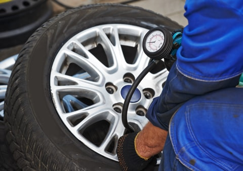 Tyre replacement in Wimbledon